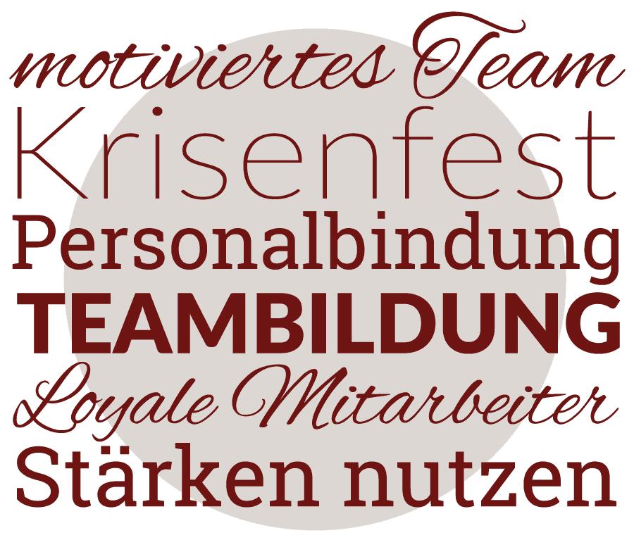 motiviertes Team-Krisenfest-Personalbindung-Teambildung-loyale Mitarbeiter-Stärken nutzen
